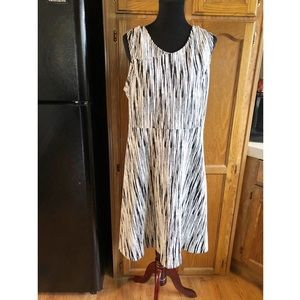 Lane Bryant Fit and Flare Dress Size 20